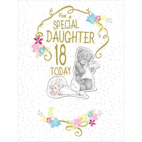 18th Birthday Daughter Large Luxury Me to You Bear Card  £4.25