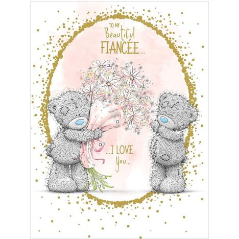 Beautiful Fiancee Large Me to You Birthday Card  £4.25