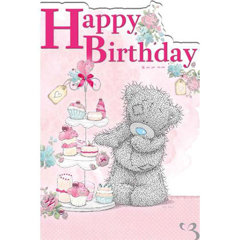 Tatty Teddy with Cakes Birthday Me to You Bear Card  £2.40