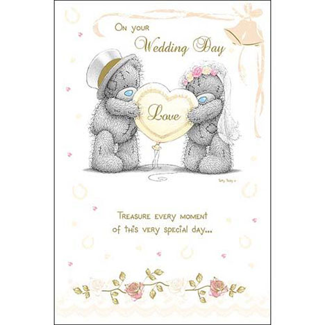On Your Wedding Day Me to You Bear Card  £3.45