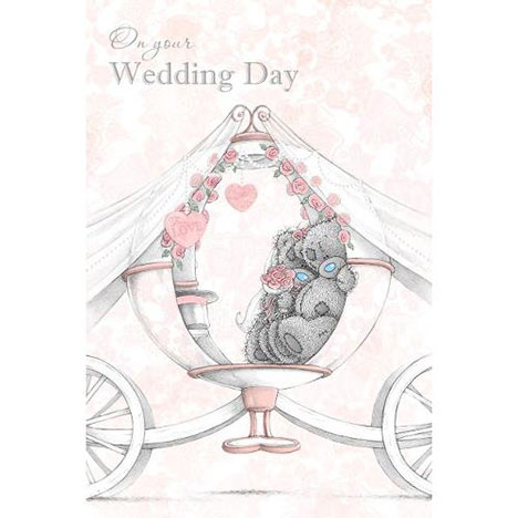 Wedding Day Me to You Bear Card  £3.59