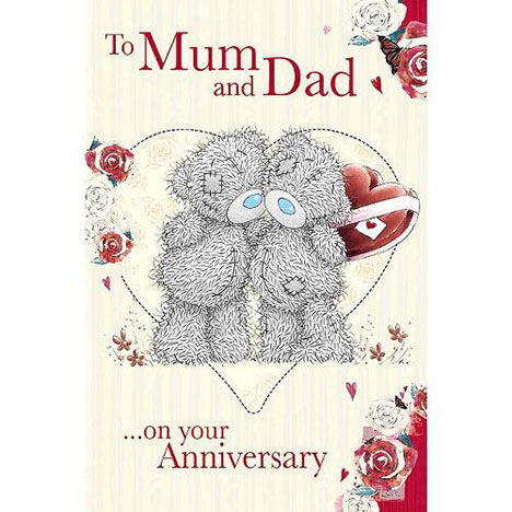 Mum & Dad Anniversary Me to You Bear Card  £3.59
