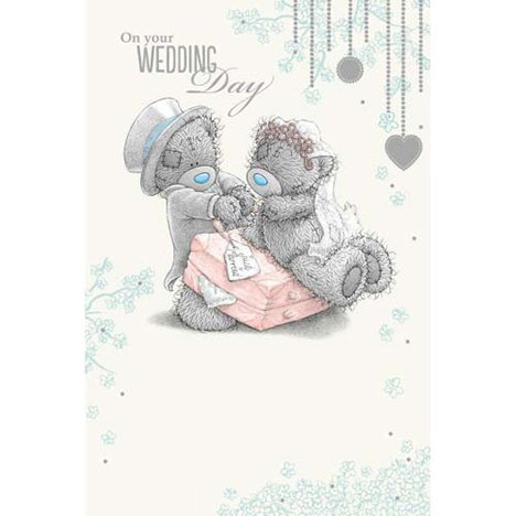 On Your Wedding Day Me to You Bear Card  £3.59