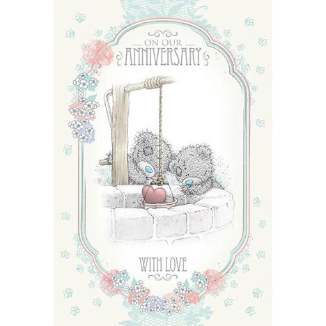 On Our Anniversary Me to You Bear Card  £3.59