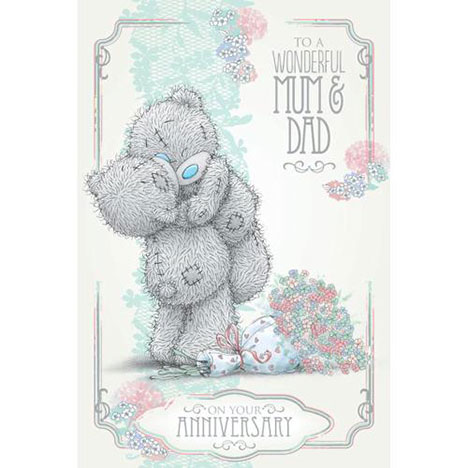 Mum and Dad Anniversary Me to You Bear Card   £3.59