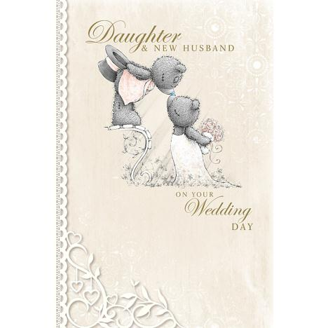 Daughter & New Husband Me to You Bear Wedding Card  £3.59