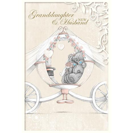Granddaughter & New Husband Me to You Bear Wedding Card  £3.59