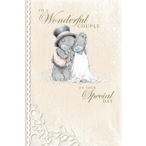 To A Wonderful Couple Me to You Bear Wedding Card  £3.59