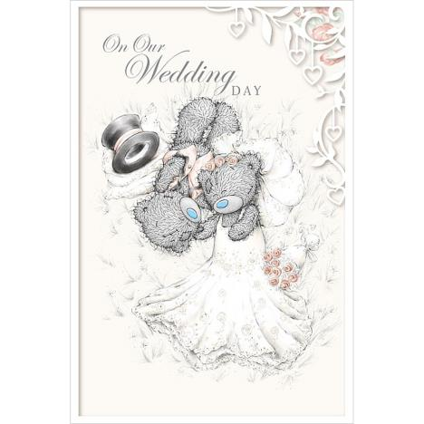 On Our Wedding Day Me to You Bear Card  £3.59