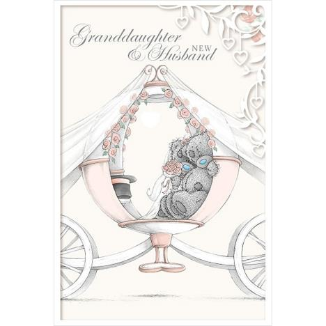 Granddaughter and New Husband Me to You Bear Wedding Day Card  £3.59