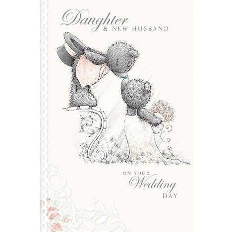 Daughter and New Husband Me to You Bear Wedding Day Card  £3.59