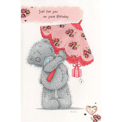 Just for You Birthday Me to You Bear Card  £2.40