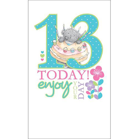 13th Birthday Me to You Bear Card  £2.49