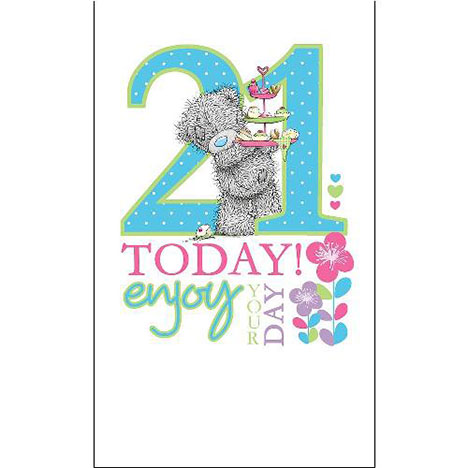 21st Birthday Me to You Bear Card  £2.49
