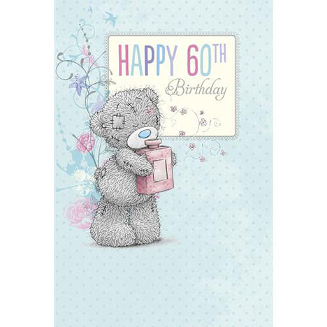 60th Birthday Me to You Bear Card  £2.49