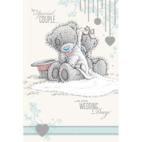 Special Couple Me to You Bear Wedding Card  £2.49