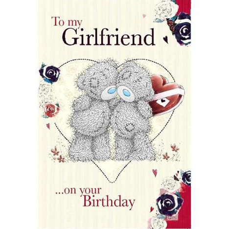 Girlfriend Me to You Bear Birthday Card  £2.49