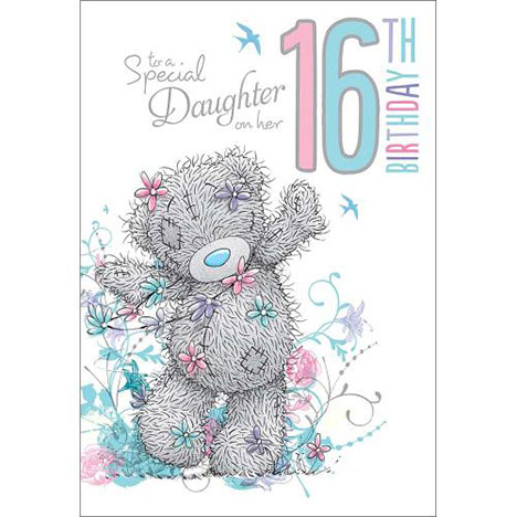 Daughter 16th Birthday Me to You Bear Card  £2.49