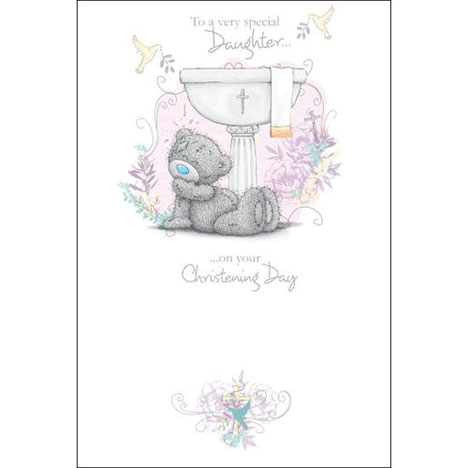 Daughters Christening Day Me to You Bear Card  £2.49