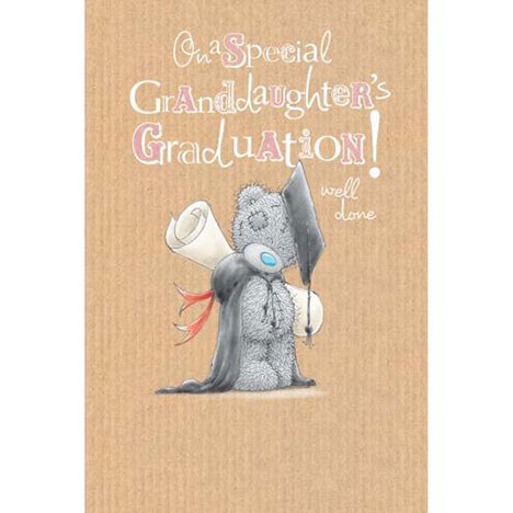 Granddaughter Graduation Me to You Bear Card   £2.49