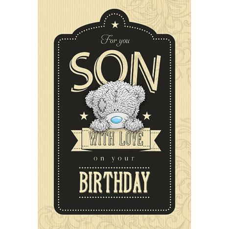 Son Birthday Me to You Bear Card  £2.49