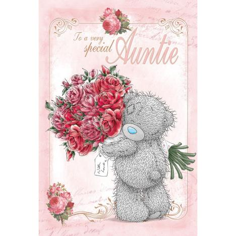 Special Auntie Me to You Bear Birthday Card  £2.49