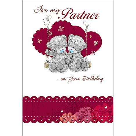 Partner Birthday Me to You Bear Card  £2.49