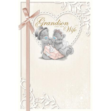 Grandson & New Wife Me to You Bear Wedding Card  £2.49