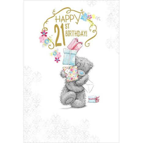 Happy 21st Birthday Me to You Bear Card  £2.49
