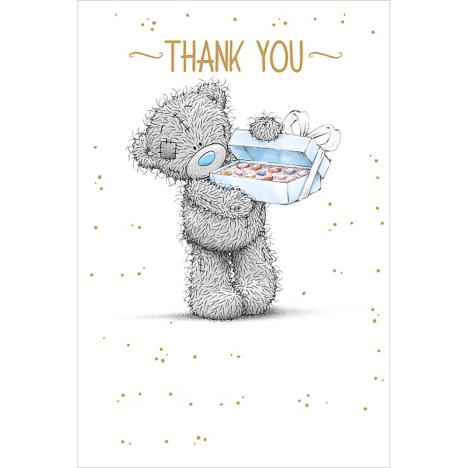 Box Of Chocolates Me to You Bear Thank You Card  £1.25
