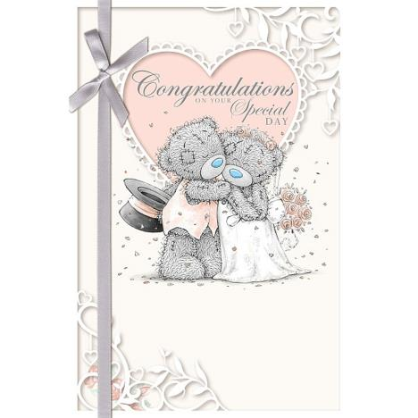 Congratulations Wedding Day Me to You Bear Card  £2.49
