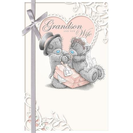 Grandson and New Wife Me to You Bear Wedding Day Card  £2.49