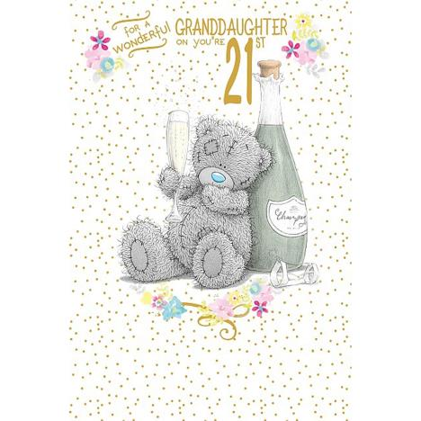 Wonderful Granddaughter 21st Me to You Bear Birthday Card  £2.49