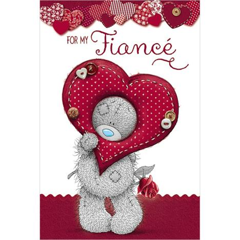 Fiance Birthday Me to You Bear Card  £3.99