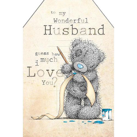 Husband Birthday Me to You Bear Card  £3.59