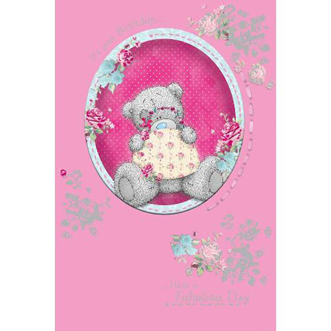 Tatty Teddy with Handbag Birthday Me to You Bear Card  £3.89