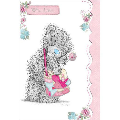 Tatty Teddy with Bow Birthday Me to You Bear Card  £3.89