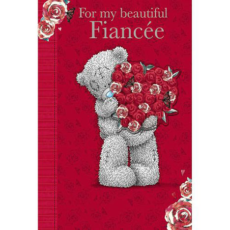 Fiancee Birthday Me to You Bear Card  £3.99
