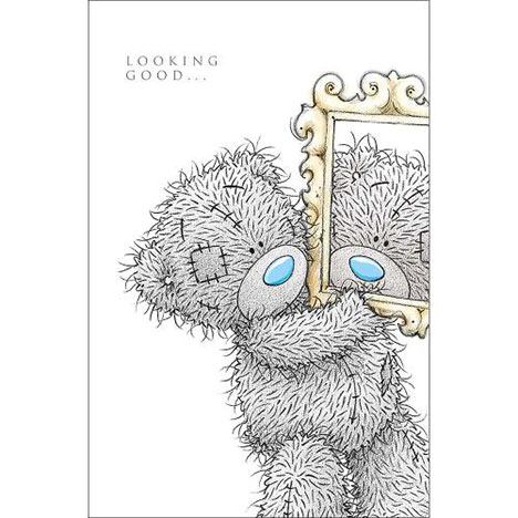 Tatty Teddy with Mirror Me to You Bear Birthday Card  £3.59
