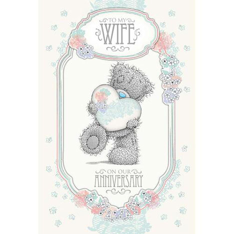 Wife Anniversary Me to You Bear Card  £3.99
