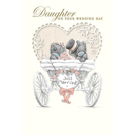 Daughter On Wedding Day Me to You Bear Card  £3.99