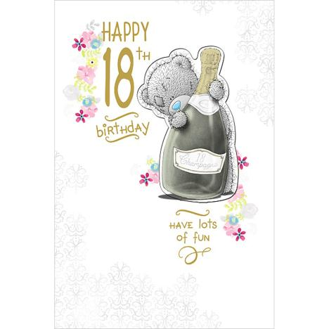 Happy 18th Birthday Me to You Bear Card  £3.79