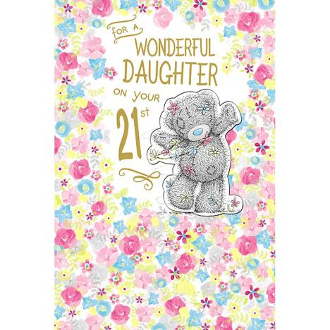 Daughter on 21st Birthday Me to You Bear Card   £3.99