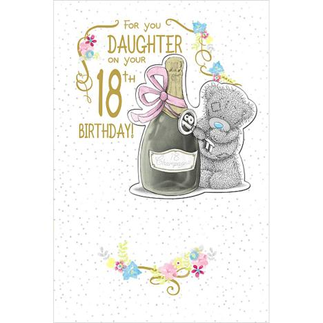 Daughter on 18th Birthday Me to You Bear Card  £3.99