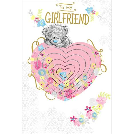 Girlfriend Birthday Pop Up Heart Me to You Bear Card  £3.99