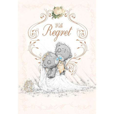 Wedding Invitation With Regret Me to You Card  £1.49