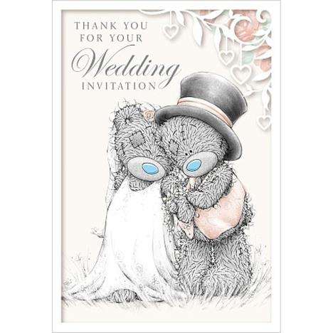 Wedding Invitation Me to You Bear Card  £1.49