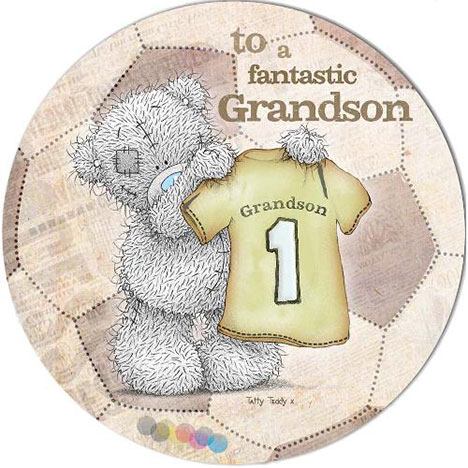 Fantastic Grandson Birthday Me to You Bear Card  £1.95