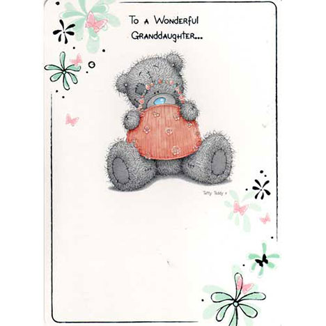 Granddaughter Birthday Me to You Bear Card   £1.40