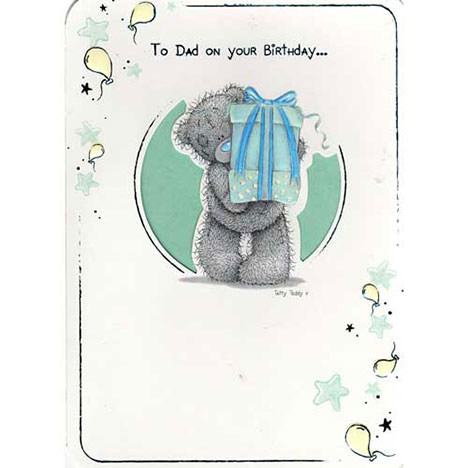 Dads Birthday Me to You Bear Card   £1.40